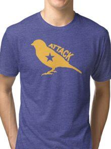 Attack Bird Tri-blend T-Shirt