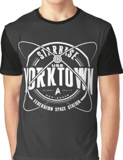 Yorktown Space Station Graphic T-Shirt