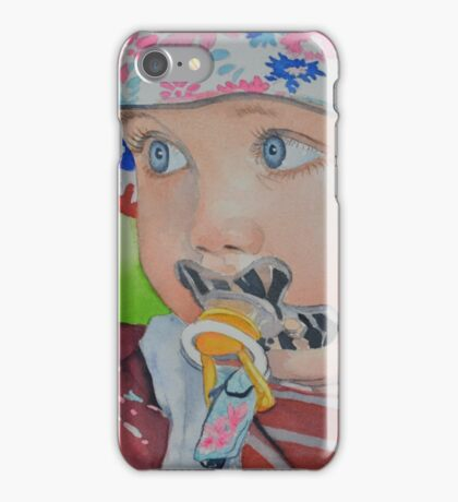 Elise 1 an iPhone Case/Skin