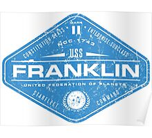USS Franklin Poster