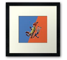 Nick and Judy (Zootopia) Framed Print