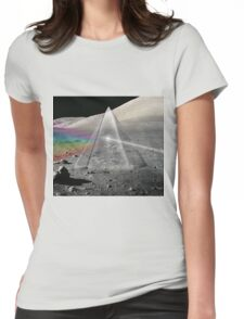 Dark Side Womens Fitted T-Shirt