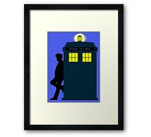 Who's Lonely Framed Print