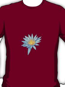 Light Blue Water Lily T-Shirt