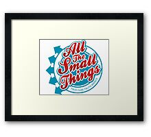 All The Small Things Framed Print