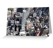 New York City Streets Greeting Card