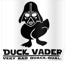 Duck Vader Poster
