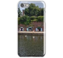 Small Craft Shops along Exeter Canal ...........l iPhone Case/Skin