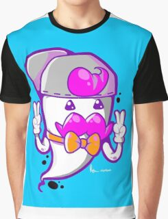 HIP THE GHOST Graphic T-Shirt