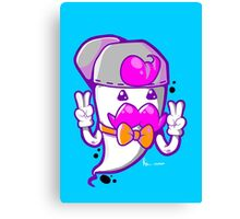 HIP THE GHOST Canvas Print