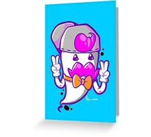 HIP THE GHOST Greeting Card