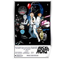 Rick and Morty Wars Poster