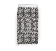 Oh what a tangled basket weave Duvet Cover