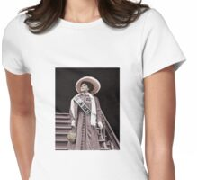 Trixie the Suffragette  Womens Fitted T-Shirt