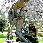 "Ernest Edward ""Weary"" Dunlop Memorial, Benalla, Vic. Australia by Margaret  Hyde"