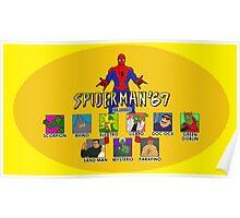 Spiderman '67 custom Poster