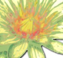 Pastel Water Lily Sticker