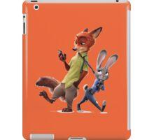 Nick and Judy (Zootopia) iPad Case/Skin
