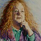 Kerry Greenwood. Author 2014 ⓒElizabeth Moore Golding by Elizabeth Moore Golding
