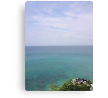 Paradise View Canvas Print