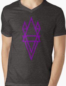 Above and Below Mens V-Neck T-Shirt