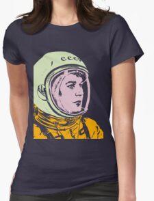 Valentina Tereshkova-2 Womens Fitted T-Shirt