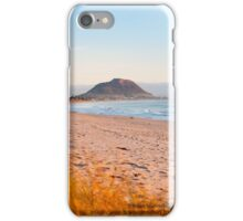 Mount Maunganui beach scene for covers, smartphone cases  iPhone Case/Skin
