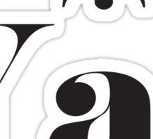 Yas Sticker