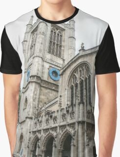 Entering St Margaret's Church Graphic T-Shirt