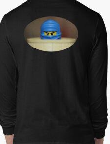 Blue Ninja Crouching T-Shirt
