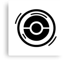 Pokestop Logo gear! Canvas Print