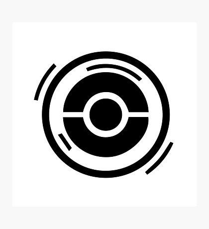 Pokestop Logo gear! Photographic Print