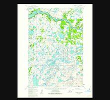 USGS TOPO Map Alaska AK Naknek C-3 358000 1952 63360 Unisex T-Shirt