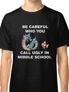 Magikarp & Gyarados White Classic T-Shirt