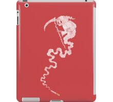 White Grim iPad Case/Skin