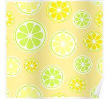 Lemon world Poster