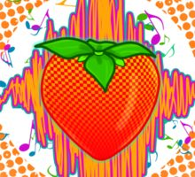 Strawberry Vibe Sticker