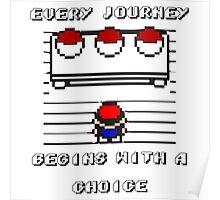 Pokemon Choice gear Poster