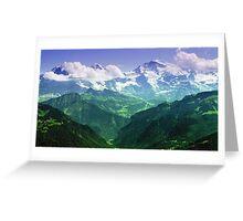 Montagne Greeting Card