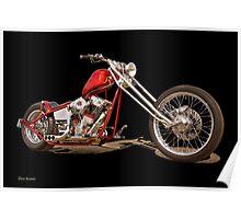 Harley Chopper 'Hawg Heaven' Poster