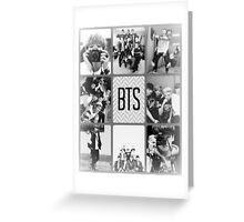 BTS Collage Greeting Card