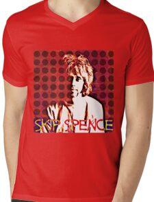 """Alexander """"Skip"""" Spence Mens V-Neck T-Shirt"""
