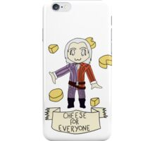 Cheese For Everyone! iPhone Case/Skin