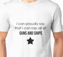 guns and ships Unisex T-Shirt