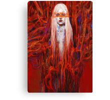Girl in the Tree Canvas Print