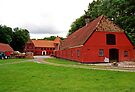 Danish Farmhouse and Cattle Barn by Margaret  Hyde