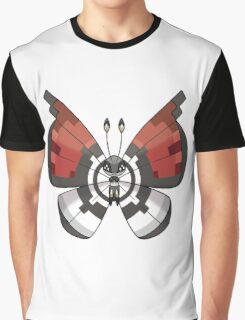 Pokemon Butterfly Graphic T-Shirt