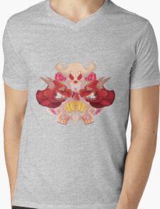 First Go! Mens V-Neck T-Shirt