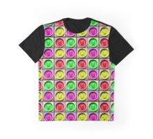 Bell Pepper Rainbow Graphic T-Shirt