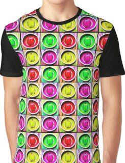 Bell Pepper Rainbow Graphic T-Shirt